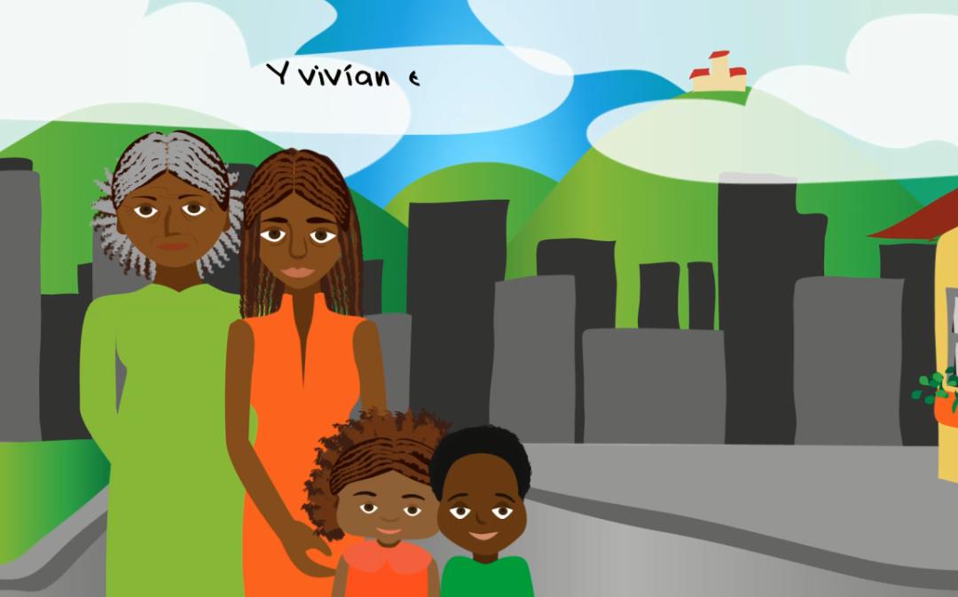 Animación, historias contadas por la infancia afrocolombiana