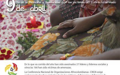 9 de abril: el Día Nacional de la Memoria y la Solidaridad con las Víctimas del Conflicto Armado