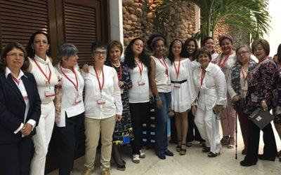 CNOA en representación de la Cumbre Nacional de Mujeres y Paz en La Habana, Cuba