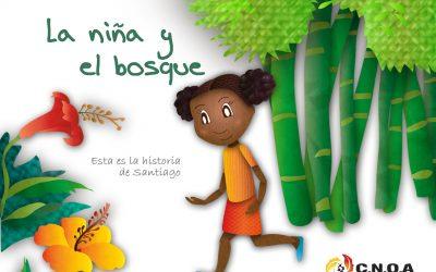 La niña y el bosque, historias contadas por la infancia afrocolombiana
