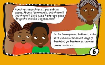 Historieta: Mayo mes de la herencia Africana