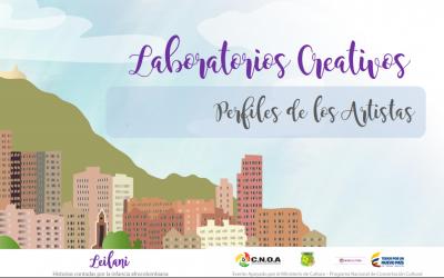 Leilani, perfiles de artistas y equipo pedagógico