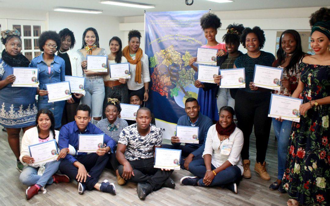 Culminó el Encuentro Nacional de Jóvenes Lideres Afrocolombian@s: Unidad, Paz y territorio