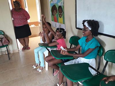 particiación niña afrocolombiana