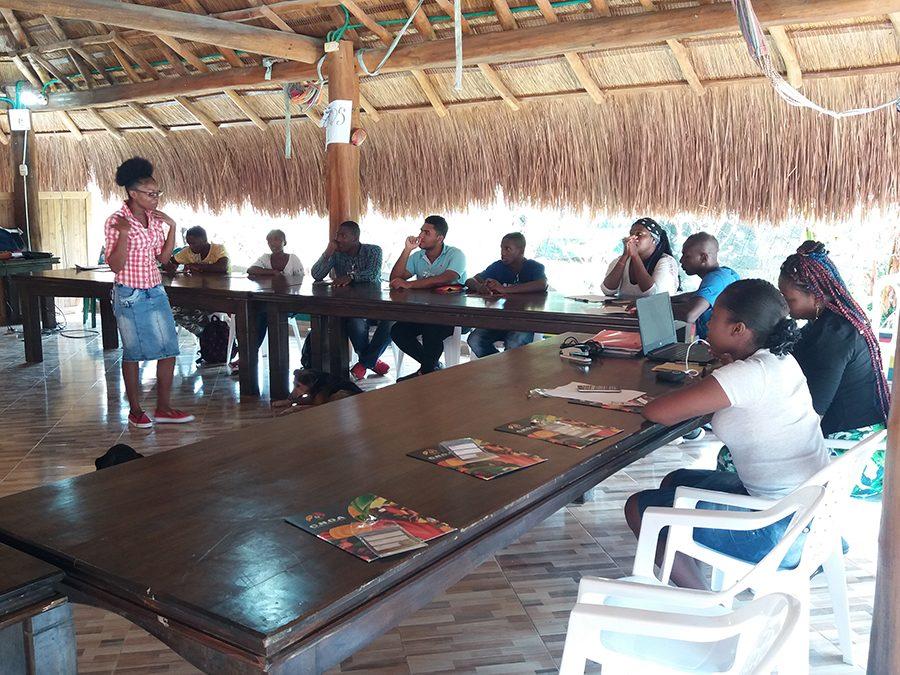 encuentro jovenes lideres afrocolombianos Uraba Darien