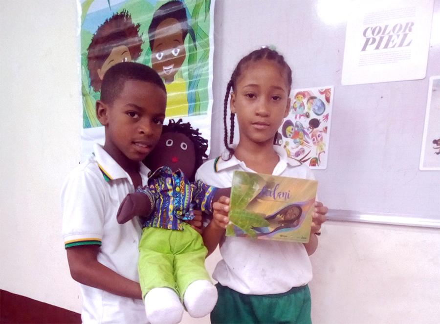 Leilani en la escuela