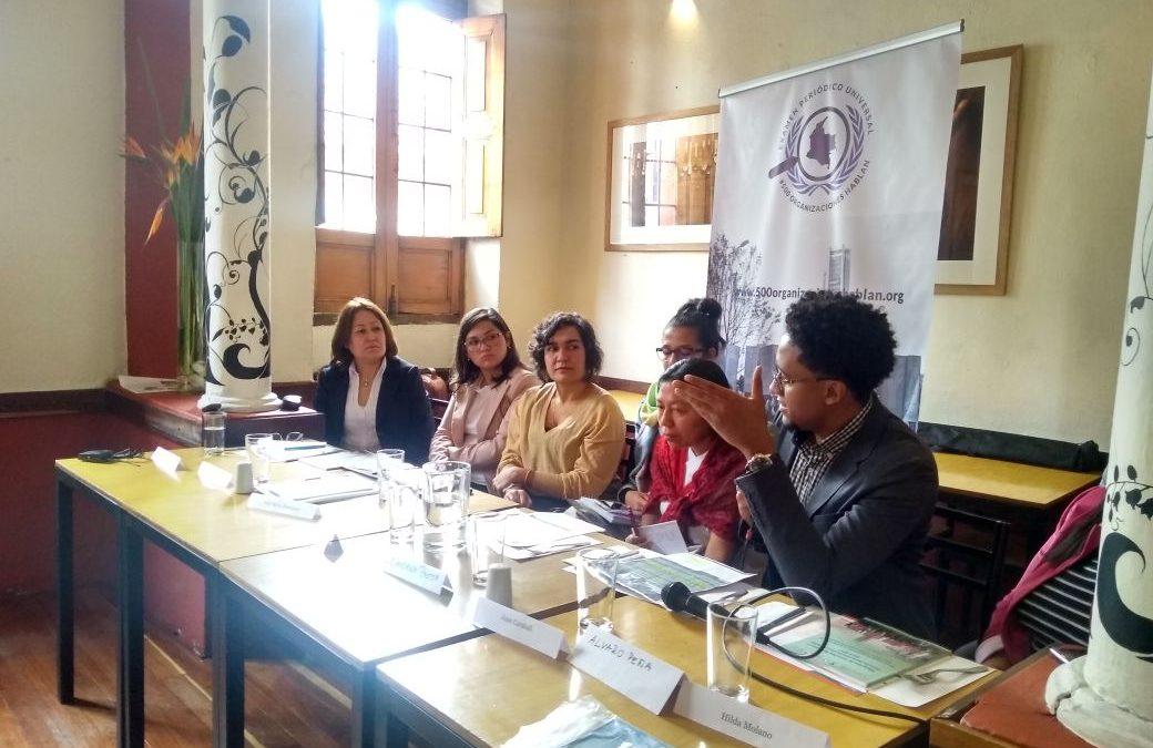Evaluación, diagnóstico de los derechos humanos en Colombia
