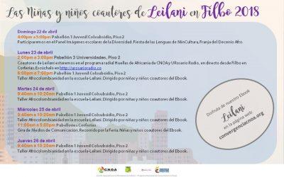 Leilani, historias contadas por la infancia afrocolombiana en FILBO 2018