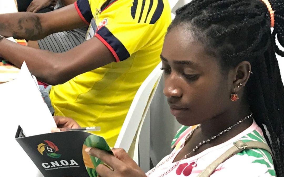 Jóvenes líderes afro recorren el país
