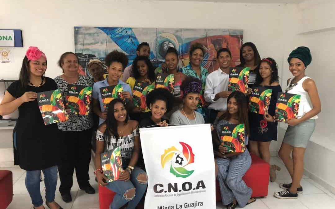 Jóvenes líderes afrocolombianos, realizan réplica en La Guajira