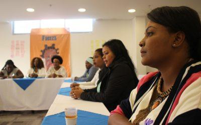 Escuela de Mujeres Afropoliticas Bogotá… camino a los espacios de representación