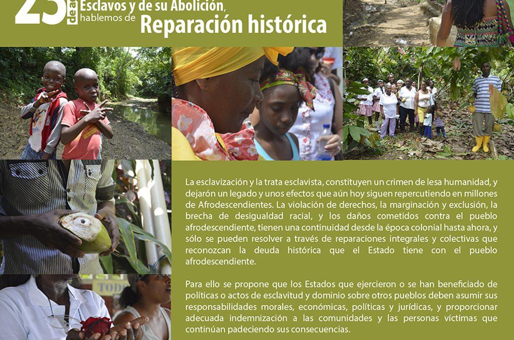 CNOA conmemora el Día Internacional del Recuerdo de la Trata de Esclavos y de su Abolición