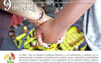 Día nacional de la memoria y la solidaridad con las victimas