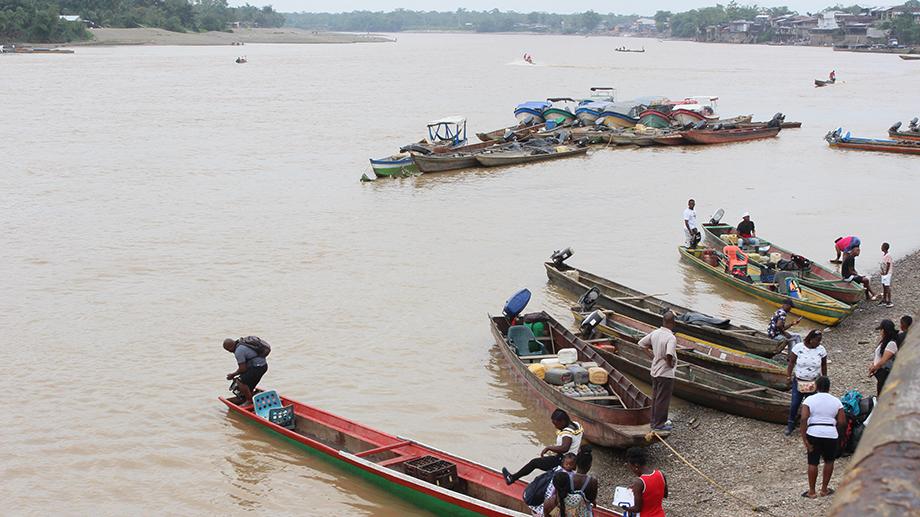 Por los derechos del río Atrato