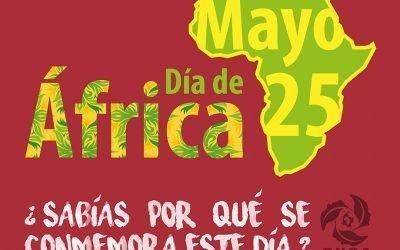 Día de África, por la unidad y solidaridad de los pueblos negros en el continente Africano y en la Diáspora