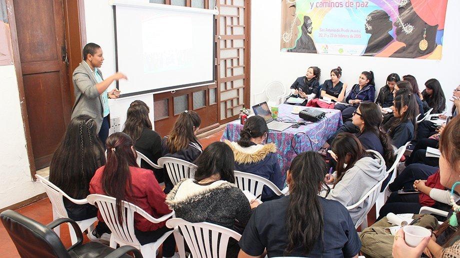 Taller de Enfoque Étnico Afrocolombiano para estudiantes de la Universidad Panamericana
