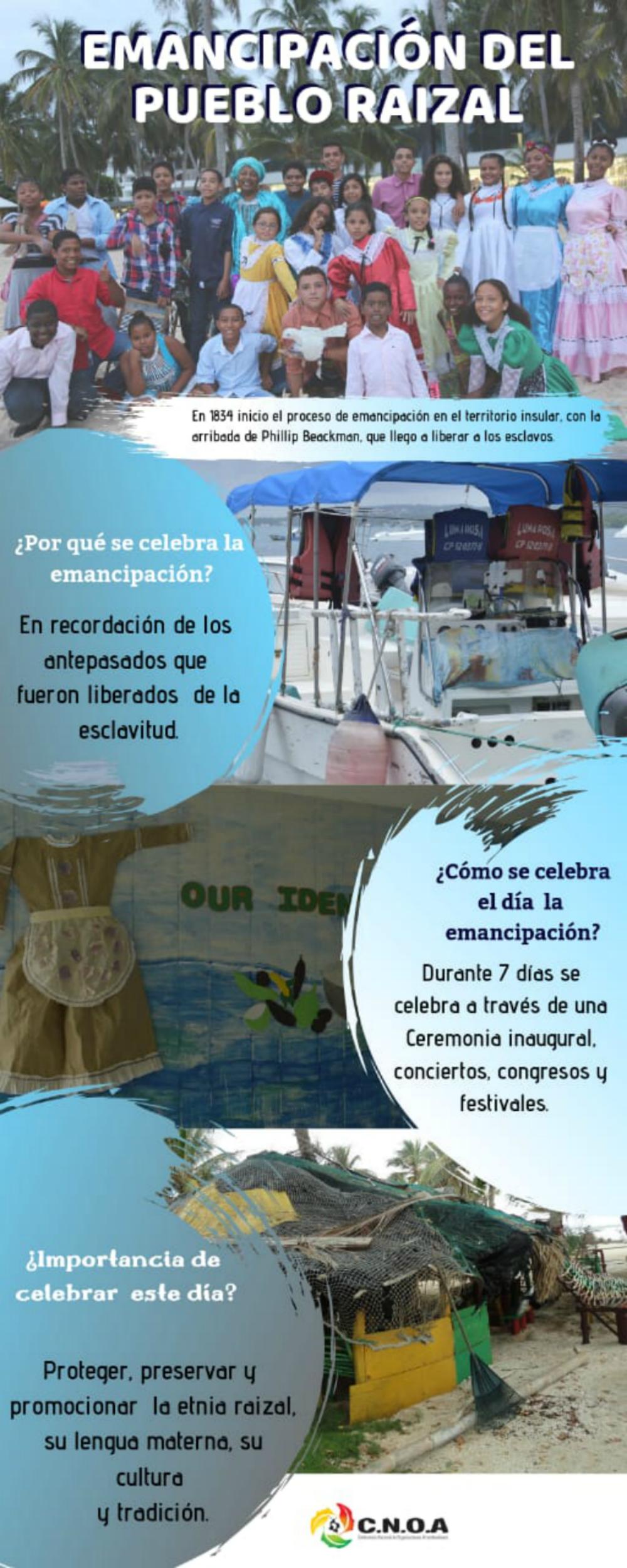 Datos sobre el Día de la Emancipación del Pueblo Raizal