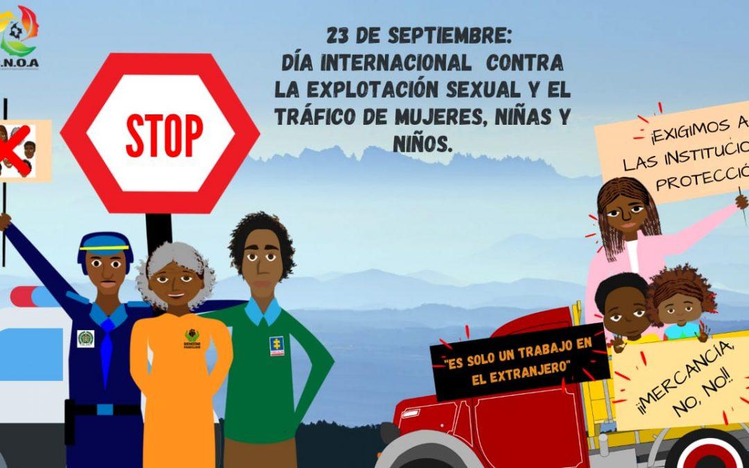 Día Internacional contra la Explotación Sexual y el Tráfico de personas
