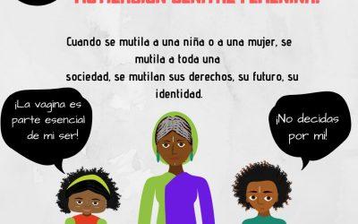 06 Febrero Día internacional de tolerancia cero con la mutilación genital femenina