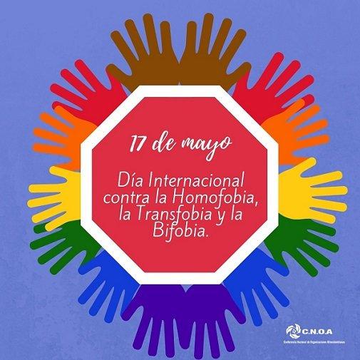Día Internacional Contra La Homofobia, La Transfobia Y Bifobia