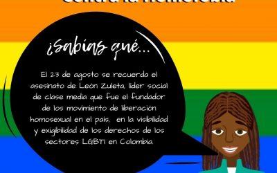 DÍA NACIONAL CONTRA LA HOMOFOBIA